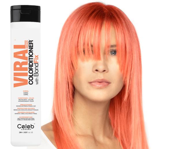 Pastel Coral BALSAM cu BondFix 1