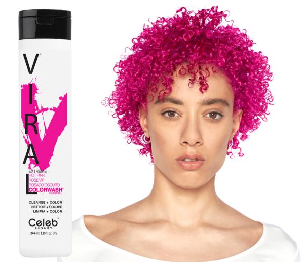 Vivid Hot Pink SAMPON 1
