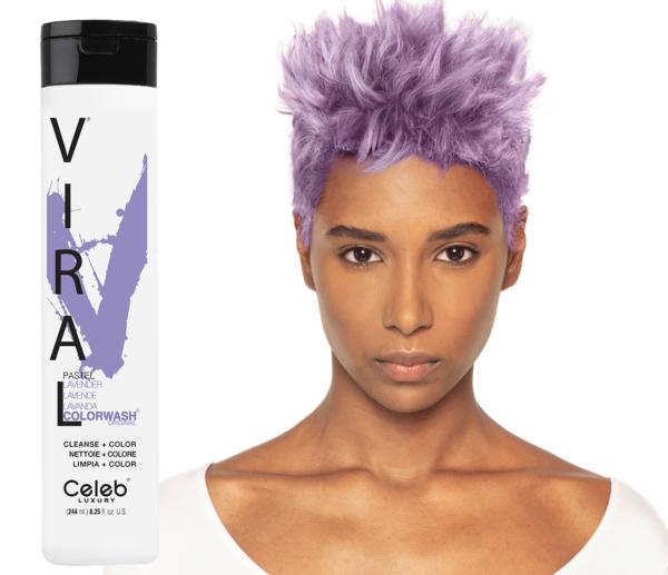 Pastel Lavender SAMPON 1