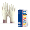 Manusi din vinil nepudrate Clear Vinyl Gloves Product Club- Pachet 100 bub 2